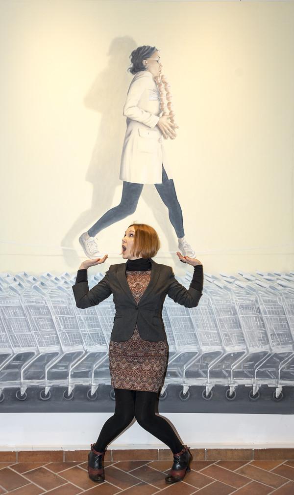 Foto dell'inaugurazione Femminile, plurale | L'interiorità, lo sguardo dentro