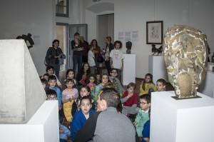 I bambini e la scultura