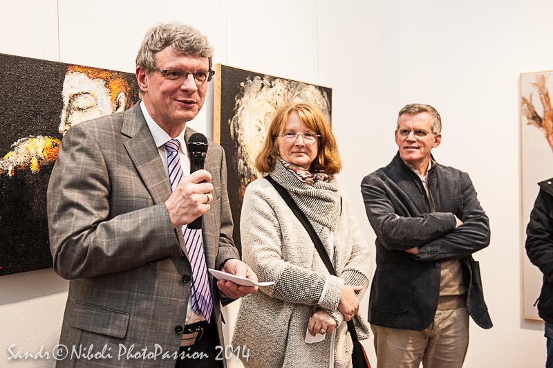 """Foto dell'inaugurazione """"Colori e immagini da Annweiler am Trifels"""""""